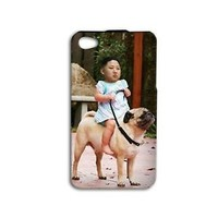 Funny Korean President Kim Pug Dog Phone Case iPhone New Cool Fun Cute Korea