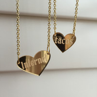 I Love Internet & Tacos Necklaces