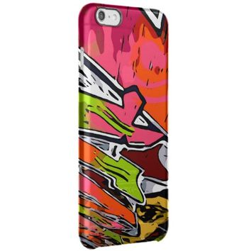 Florescent Funky Graffiti Abstract Uncommon Clearly™ Deflector iPhone 6 Plus Case