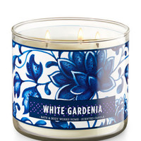 White Gardenia 3-Wick Candle | Bath And Body Works