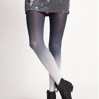 navy ombre tights