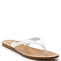 Prada - Patent Leather Thong Sandals - Saks Fifth Avenue Mobile