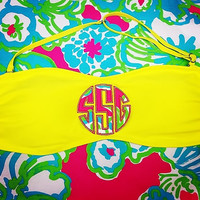 Lilly Pulitzer Monogrammed Bandeau
