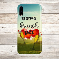 Resting Brunch Face x Mimosas Phone Case, iPhone 8, iPhone 7s Plus, Tough iPhone Case, Galaxy s8, Samsung Galaxy s8 Plus, Food Quotes