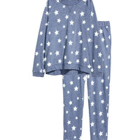 Pajama Top and Pants - from H&M