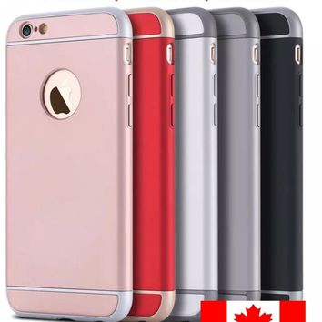iPhone 6 / 6S iPhone 7 8 Plus Shockproof Hybrid Ultra Slim Hard Cover Case