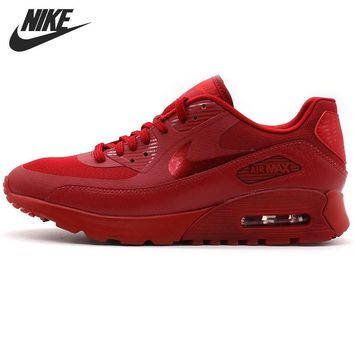 OPAL FERRIE - Original Red Velvetine NIKE AIR MAX 90 Women's Running shoes sneakers