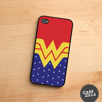 iPhone 5 Case Wonder Woman Phone iPhone 5S Case, iPhone 4/4S Case, iPhone 5C Case