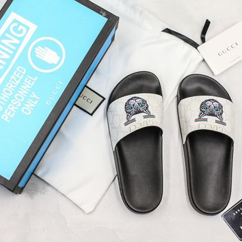 Gucci Slide Sandal With Blue Box Style #9 - Best Online Sale