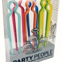 Fred Party People Chopsticks/Utensils, Set of 6