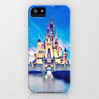 Disney Magic Castle iPhone & iPod Case by Courtney Anchundia