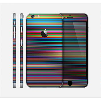 The Vivid Multicolored Stripes Skin for the Apple iPhone 6 Plus