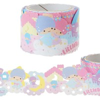 Little Twin Stars Lace style Roll Sticker Sanrio Japan Kiki Lala - VeryGoods.JP