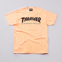 Flatspot - Thrasher Skate Mag T Shirt Neon Orange