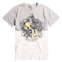 Harry Potter Hufflepuff House Crest Split T-Shirt