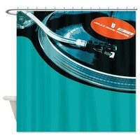 DJ Turntable Shower Curtain> GREAT SHOWER CURTAINS!> Poptopia