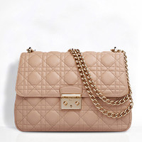 """MISS DIOR"" BAG NUDE LAMBSKIN"
