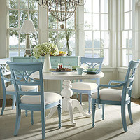 Coastal Living 48 Round Pedestal Table in Choice of Color - Dining Tables - Dining Room, Kitchen & Bar - Furniture - PoshLiving