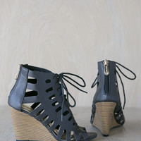 Ivanna Caged Wedge