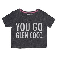Junior's You Go Glen Coco. Graphic Tee