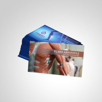 HEALTH & ANATOMY BUSINESS CARD