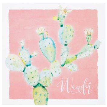 Wander Cactus Wood Wall Decor | Hobby Lobby | 5871207