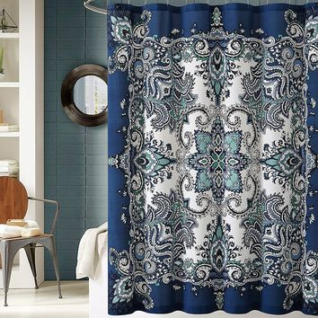 Take Me To Istanbul Boho Shower Curtain