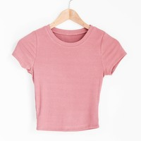 Rylin Crop Baby Tee