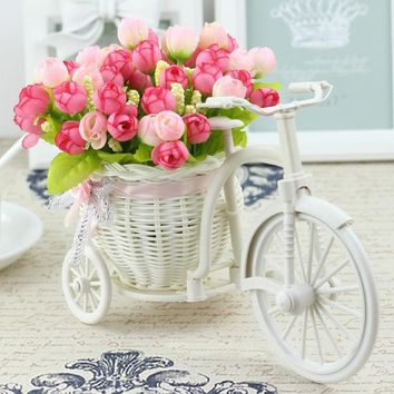 Flower Basket Set for Home office Decoration home flowers decoration for wedding