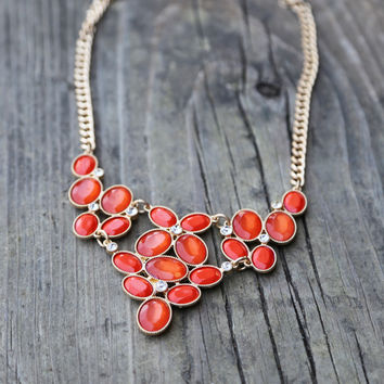 Blooming Coral Necklace