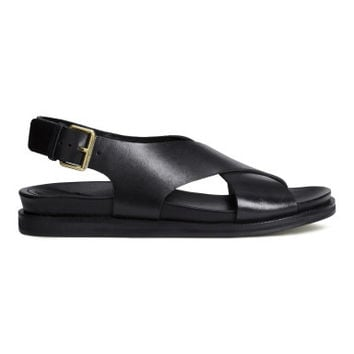 H&M Leather Sandals $59.95