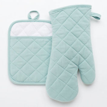 Food Network™ Quilted Pot Holder & Oven Mitt Set | null