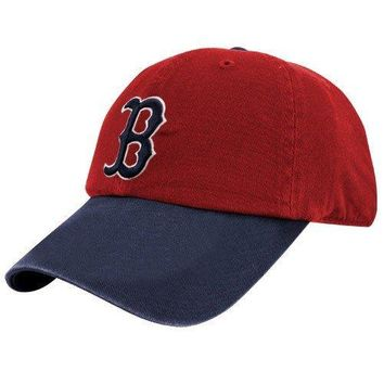 MLB '47 Brand Boston Red Sox Red Cooperstown Collection 1975 Franchise Fitted Dad Hat