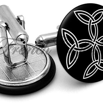 Celtic Cross Alternate Cufflinks