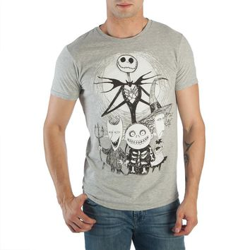 Nightmare Before Christmas Tee Jack Skellington Gift Nightmare Before Christmas Shirt   Nightmare Before Christmas TShirt Jack Skellington Apparel