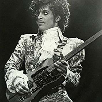 "Prince Hot Super Music Star Fabric Cloth Rolled Wall Poster Print -- Size: (32"" x 24"" / 17"" x 13"")"