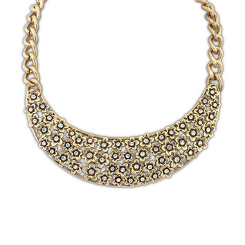 Stylish New Arrival Jewelry Shiny Gift Vintage Hollow Out Necklace [4918864964]