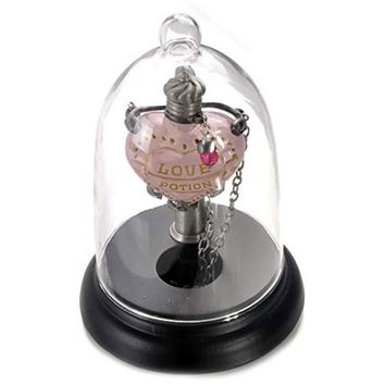 Harry Potter Love Potion Pendant and Glass Display New with Box