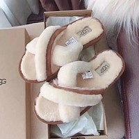 UGG Women Fashion Casual Slipper Shoes
