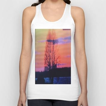The tree of life  Unisex Tank Top by Jessica Ivy