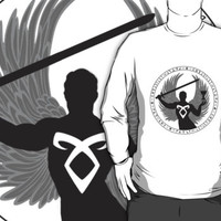Raziel & The Mortal Instruments (The Shadowhunter's Seal) | Dark by riotinlights