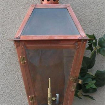 "Regency Coach Light Flat Model Gaslight GL14F w/ Wall Mount 16 1/4"" x 8 1/4"""