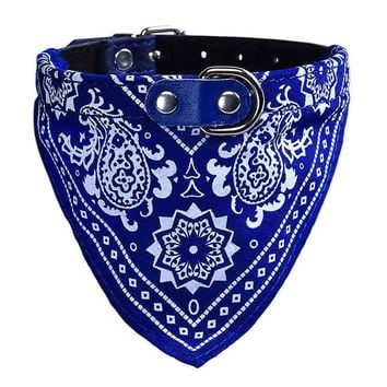 Adjustable Neck Scarf Bandana Collar