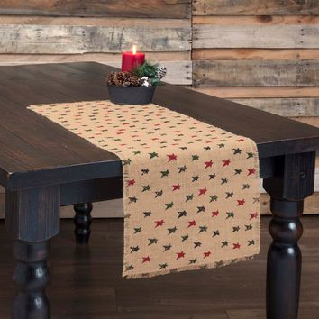 Primitive Star Jute Table Runners