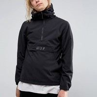 HUF Overhead Jacket With Logo at asos.com