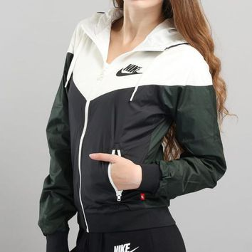 Nike Og Windrunner Hooded Jacket 2 Colors-1