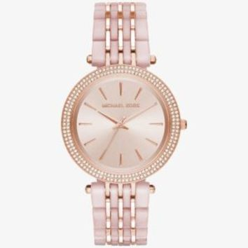 Darci Pavé Two-Tone Watch | Michael Kors