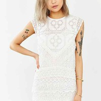 Kimchi Blue Mary Mac Lace Dress- White