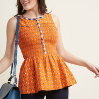 Uplifting Idea Sleeveless Top
