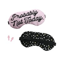 Probably Not Today Sleep Mask